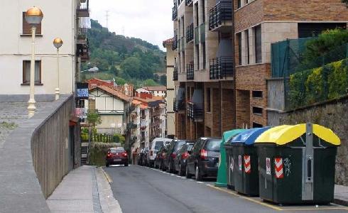 Se añadirá pedal a los contenedores de recogida de residuo orgánico de Andoain