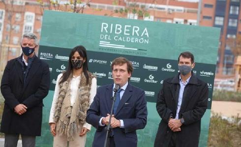 Se presenta en Madrid el proyecto Ribera del Calderón