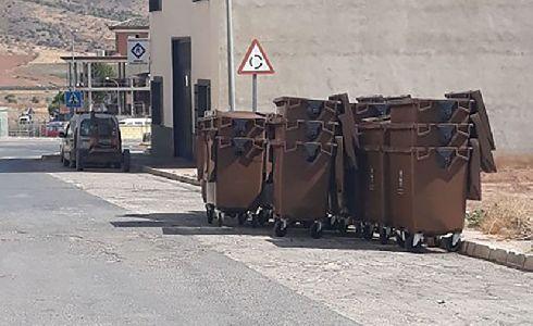 Sierra de Yeguas adquiere 42 nuevos contenedores de basura