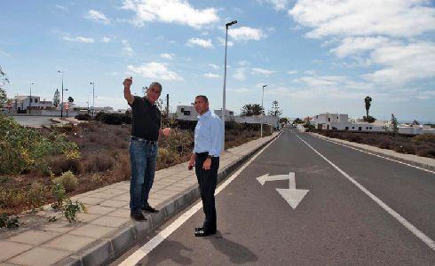 Teguise inicia nueva fase de mejora del alumbrado público del municipio