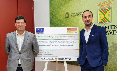 Torrelavega recibe financiación para ejecutar su Plan de Eficiencia Energética