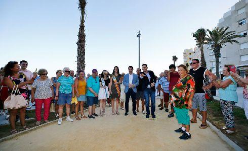 Torrevieja inaugura el Paseo Marítimo de Punta Margalla
