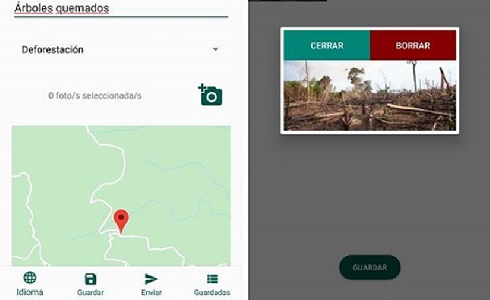 Una app colaborativa para detectar y resolver problemas medioambientales