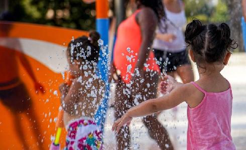 Un parque de agua urbano que favorece la sostenibilidad