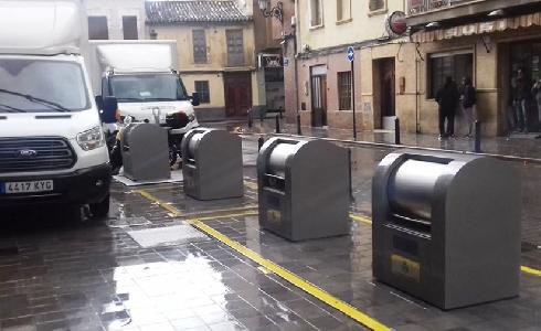 València incorpora seis nuevas islas de contenedores soterrados
