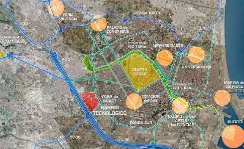 Valencia presenta el proyecto del futuro distrito innovador de Vara de Quart a la asociación vecinal de Tres Forques