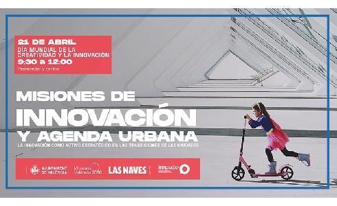 Valencia presenta su Estrategia Urbana 2030 en un evento coincidiendo con el Día Mundial de la Innovación