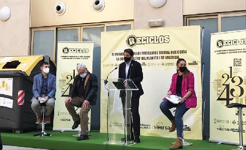 Valencia se convierte en la mayor ciudad de España en implantar el sistema RECICLOS de reciclaje con recompensa