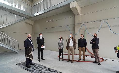 Valladolid estrena nuevas instalaciones para el lavado de vehículos del Servicio de Limpieza