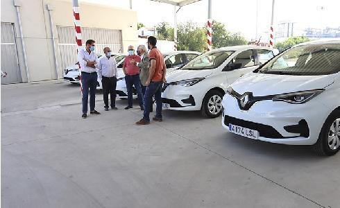 Valladolid sigue apostando por electrificar la flota municipal de vehículos