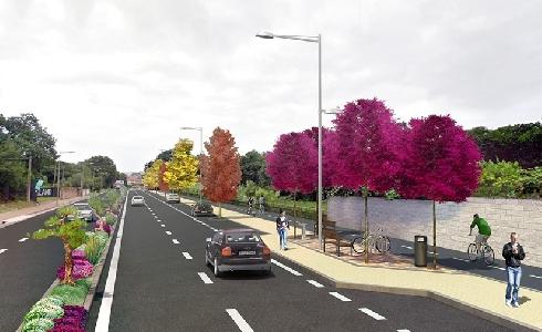 Vigo construirá una gran pasarela en la Avenida de Europa para bicicletas y peatones