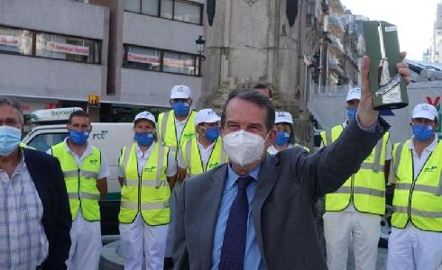 Vigo, premiada con una Escoba de Platino por la reducción de emisiones en el servicio de limpieza