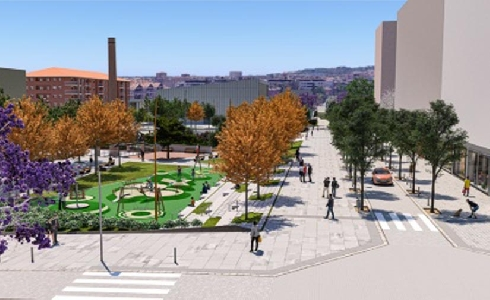 Viladecans termina de tejer su núcleo urbano con el nuevo barrio de Levante