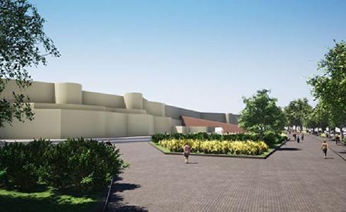 Zamora dispone de un Anteproyecto para el ajardinamiento de toda la zona de la Muralla en la avenida de la Feria