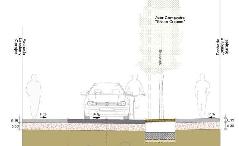 Zaragoza avanza en el proyecto de renovación de la calle Osa Mayor en Valdefierro