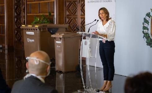 Zaragoza inicia un plan piloto de recogida selectiva de residuos orgánicos en 31 grandes centros