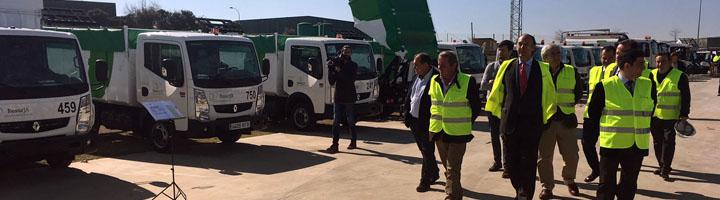 Resurja invierte 3,7 millones de euros en la adquisición de nuevos vehículos de recogida de residuos