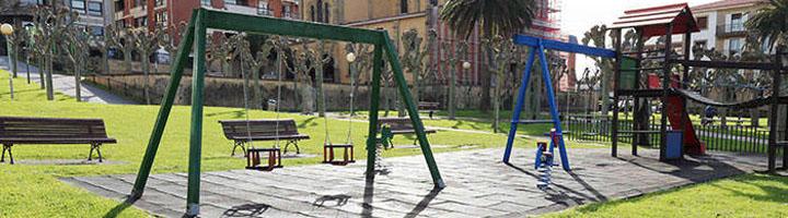Getxo prepara la mejora de la zona de juegos infantiles, itinerarios peatonales y alumbrado público del parque San Ignacio