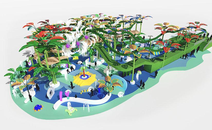 Splash Track: un nuevo concepto de circuito acuático de aventura
