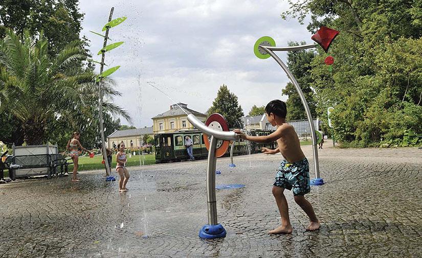 Splashpad®, una solución de parque de agua para mejorar la calidad de vida en nuestras ciudades