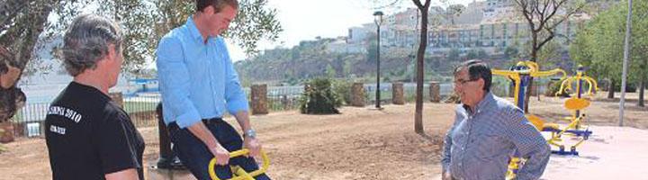 La Vall d'Uixó estrena su primer gimnasio al aire libre
