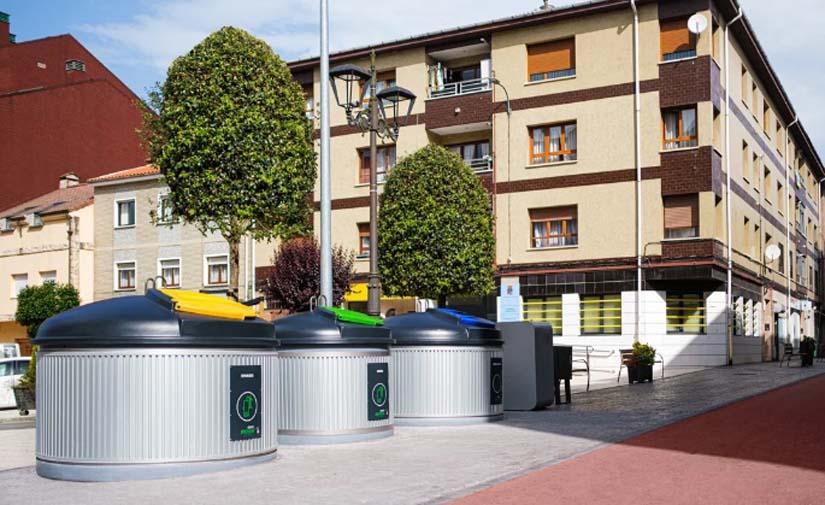Sustitución de iglús de residuo selectivo por contenedores soterrados Molok