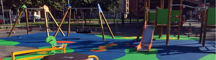 Barakaldo estrena dos nuevos parques infantiles en La Orconera y Landabeko-Lurkizaga