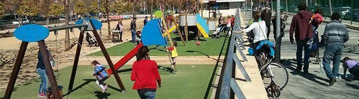 Sevilla inicia un programa de actuaciones para reparar y mejorar todos los parques infantiles de la ciudad