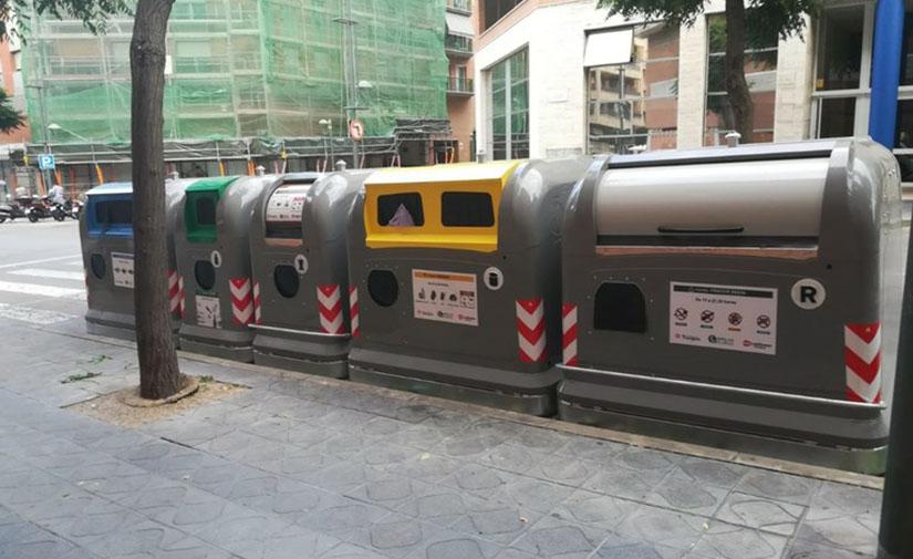 Tarragona estudia extender la implantación de contenedores para personas con movilidad reducida en toda la ciudad