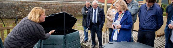 El Gobierno de Cantabria pone en marcha un proyecto piloto de compostaje comunitario en Mazcuerras