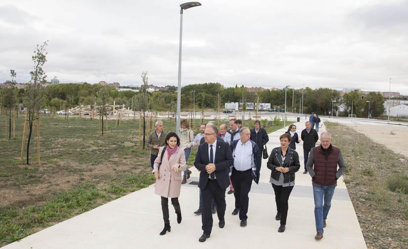 Terminado un nuevo parque de 14.000 metros cuadrados en Pamplona
