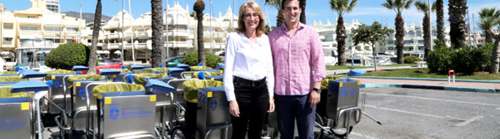 Benalmádena renueva parte de su flota de limpieza viaria para seguir ofreciendo un servicio excelente