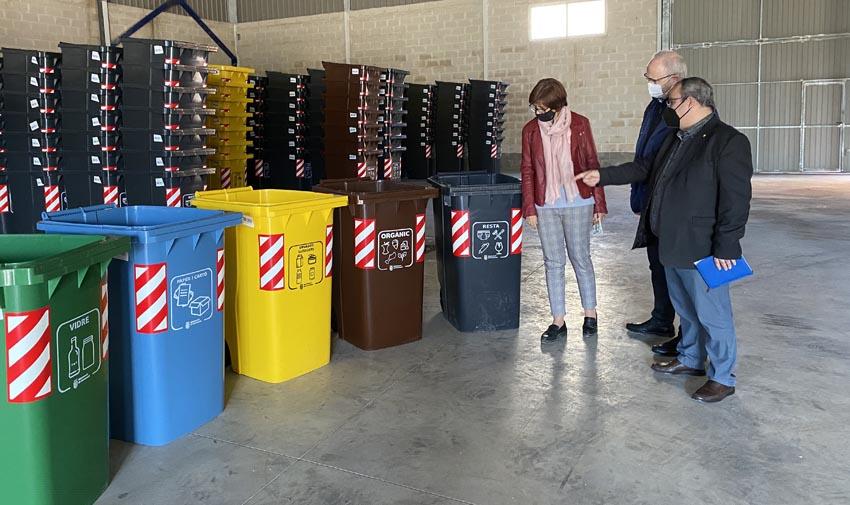 Todo listo para el inicio del nuevo sistema de recogida de residuos en Carcaixenet