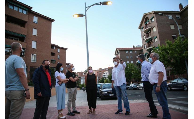 Toledo inaugura la renovación total del alumbrado de la Ronda de Buenavista