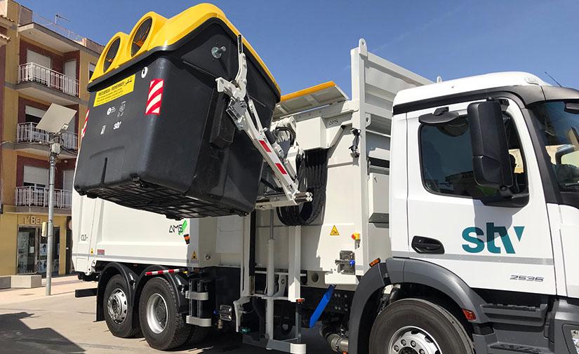 Torre Pacheco cuenta con nuevos camiones híbridos para la recogida de residuos