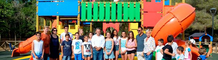 El Parque de Pinosol en Jávea ya tiene abierta la nueva zona de juegos