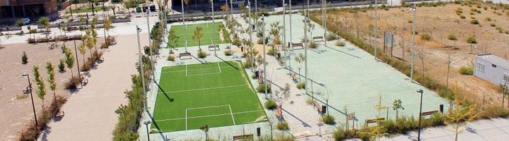 Getafe aprueba la realización de las obras de las pistas multideportivas en Los Molinos