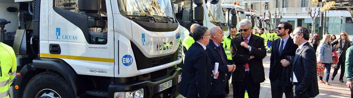 Doce nuevos vehículos permitirán actuar con mayor eficacia en la limpieza de imbornales y de la red de saneamiento de Murcia