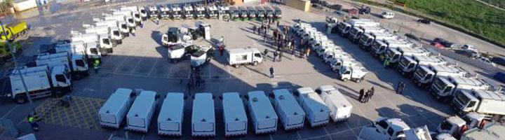 LIMASA invierte 12 millones de euros en la nueva flota de limpieza viaria y recogida de residuos de Málaga