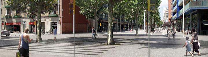 Barcelona da comienzo a las obras que transformarán el Eje Pere IV en un espacio cívico