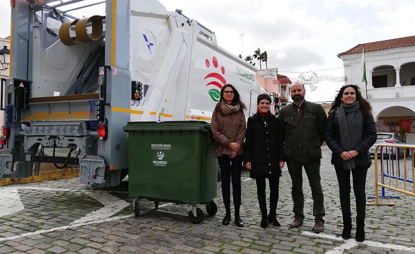 Un nuevo camión recolector-compactador con control de pesaje para dar servicio a Aceuchal