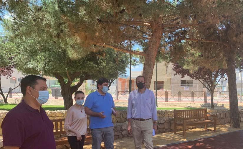 Un nuevo jardín adaptado en Murcia