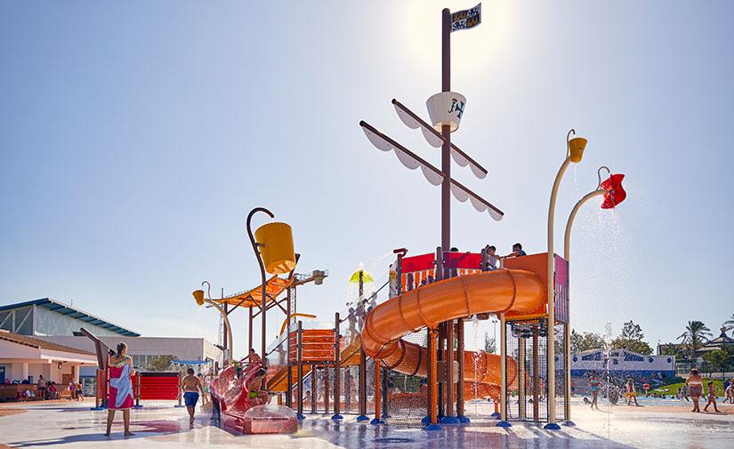 Un parque temático de agua sobre la historia de Palos de la Frontera