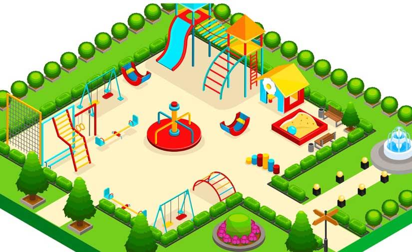 Una guía de buenas prácticas de Afamour y AEPJP para la creación de zonas de juegos infantiles y áreas de entrenamiento