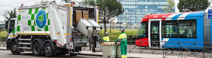 Madrid incorporará 36 nuevos camiones ECO para la recogida de residuo orgánico