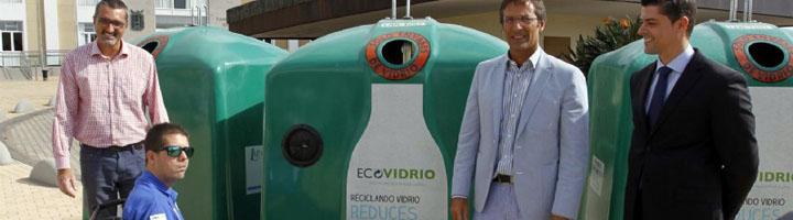 Lanzarote será la primera isla del archipiélago en instalar contenedores accesibles para la recogida de vidrio