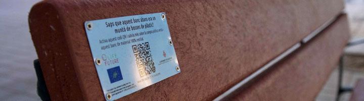 Las Naves instala 71 bancos de material 100% reciclado del proyecto Life Future