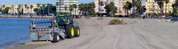 La Línea de la Concepción adjudica el servicio de limpieza de playas por 128.532 euros