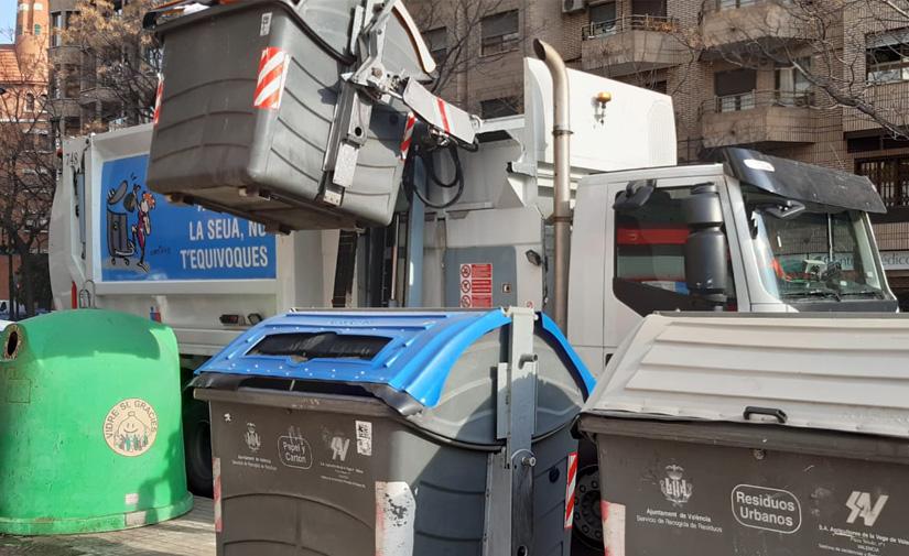 Valencia destinará 1.325 millones de euros para el nuevo contrato de limpieza viaria y recogida de residuos