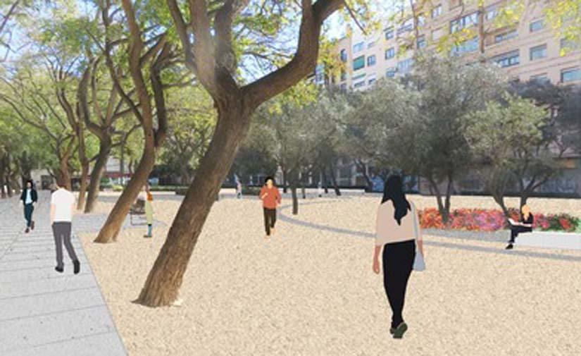 Valencia licita la remodelación del parque Manuel Granero de Russafa con una inversión de 600.000 euros